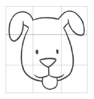 小学生用蜡笔画的小猪 背书包