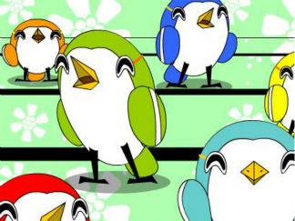 愛唱歌的小鳥