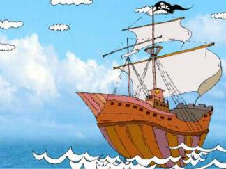 I sail the sea