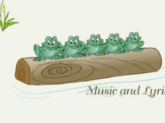 five frogs