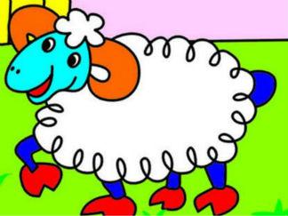 我有一只小羊羔