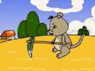 地鼠種蘿卜