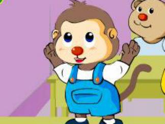 小猴照镜子2