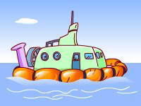 氣墊船的發明