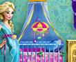 艾莎布置婴儿房