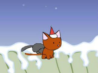 淘气圣诞猫