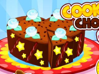 好吃的巧克力蛋糕