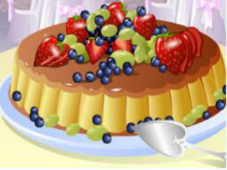 缤纷水果蛋糕