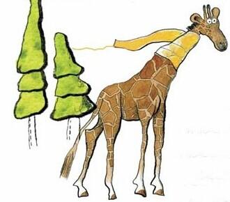【长颈鹿的围巾童话】长颈鹿的金色围巾