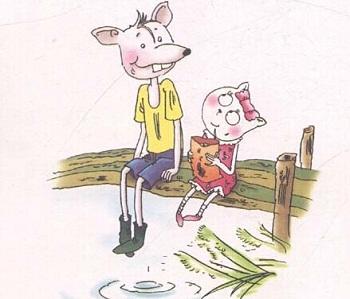 大个子老鼠小个子猫_大个子老鼠过马路