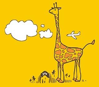 小长颈鹿图片|长颈鹿的小靴子