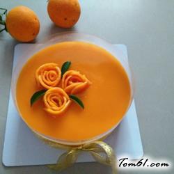 芒果果冻慕斯蛋糕的做法