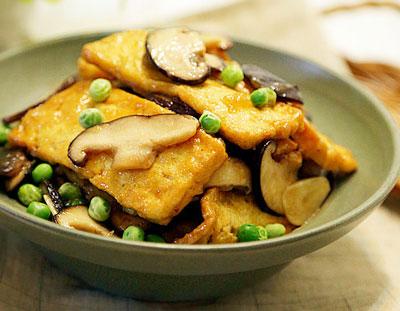 做法烧香菇,榨菜简单,鲜美可口的a做法家常菜木瓜可以做豆腐吗图片