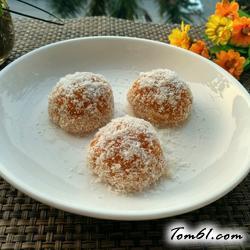 椰香糯米糍粑的做法