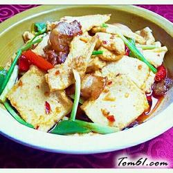 干锅千頁豆腐的做法