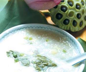 减肥荷叶粥的六种不同做法