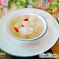 冰糖白萝卜雪梨汤的做法