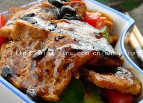 豆豉炒豆腐,适合懒人的简单美味