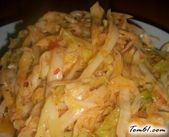 爆炒圆白菜,1分钟出锅的懒人菜