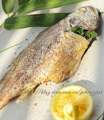 盐焗鸡粉烤黄花鱼简单却超级美味