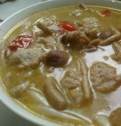 茶树菇冬瓜肉丸汤,适合爱美的懒人们