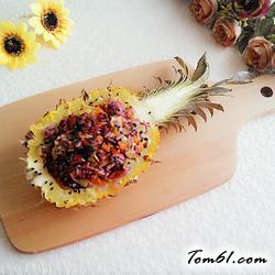 菠萝饭的做法2
