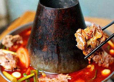 老北京羊做法菜谱的火锅及做好吃_蝎子家常_家常做法炖羊特色的排骨土豆图片