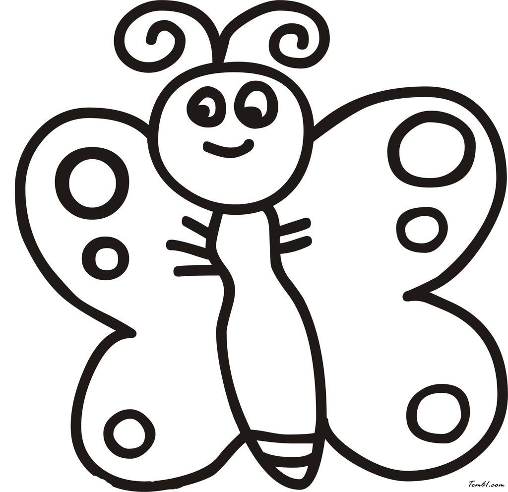 蝴蝶6图片_简笔画图片_少儿图库_中国儿童资源网图片