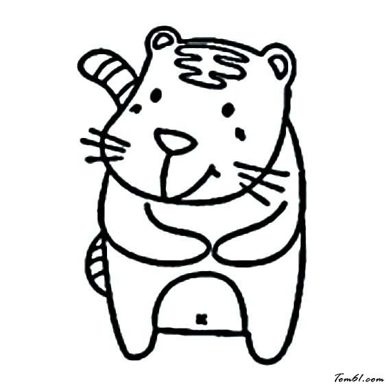 童老虎简笔画大全_老虎5图片_简笔画图片_少儿图库_中国儿童资源网