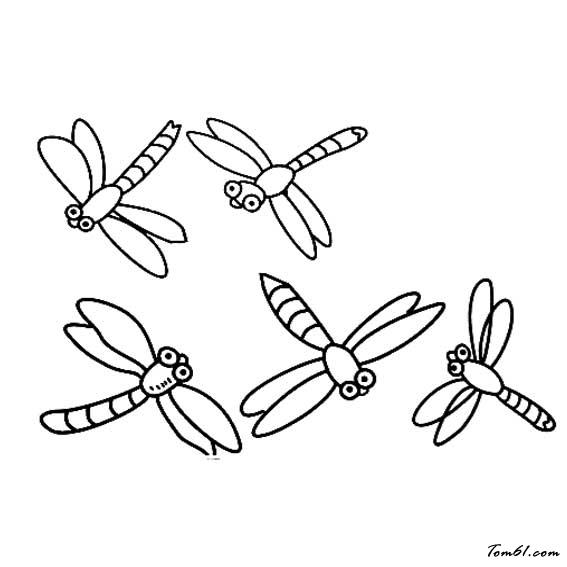 蜻蜓4图片_简笔画图片_少儿图库_中国儿童资源网