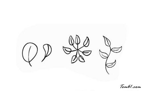 花草叶子图片