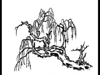 圣诞老人蛋糕图片_杨柳图片_简笔画图片_少儿图库_中国儿童资源网