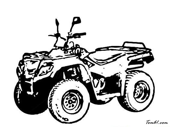 四轮摩托车沙滩车