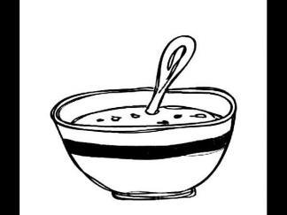 一碗粥图片 简笔画图片 少儿图库