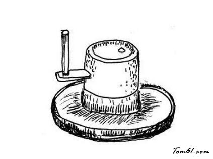 石磨内部结构图