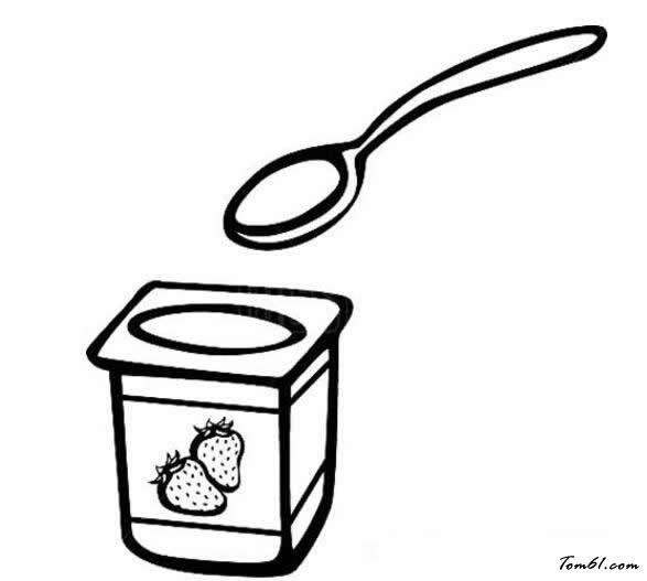酸奶盒简笔画图片大全