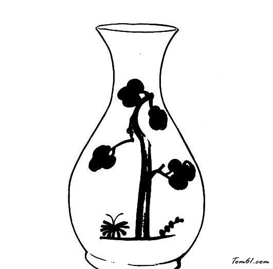 花瓶6图片_简笔画图片_少儿图库_中国儿童资源网