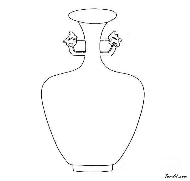 空花瓶简笔画步骤