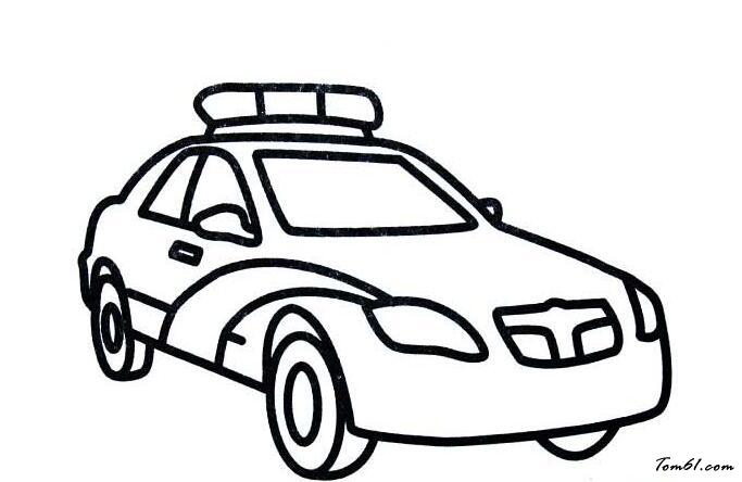 汽车类简笔画图片_简笔画图片_少儿图库_中国儿童资源图片