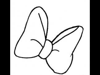 蝴蝶结2图片 简笔画图片 少儿图库