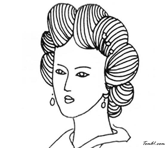 古代女人发型