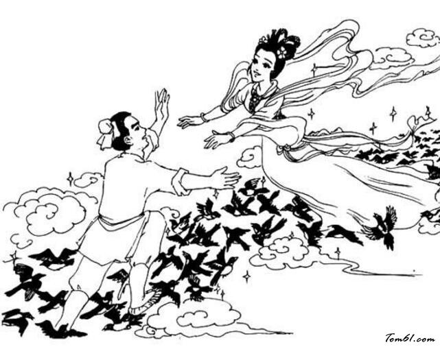 牛郎织女2图片_简笔画图片_少儿图库_中国儿童资源网