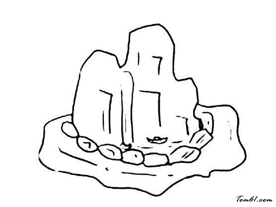 漂流瓶简笔画图片_简笔画图片-儿童资源网