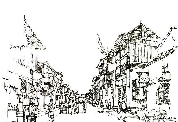 街景图片_简笔画图片_少儿图库_中国儿童资源网图片