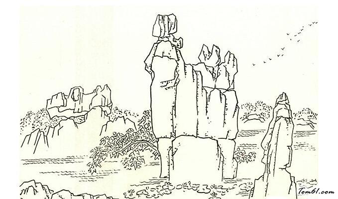 小兔子舞蹈_云南石林图片_简笔画图片_少儿图库_中国儿童资源网