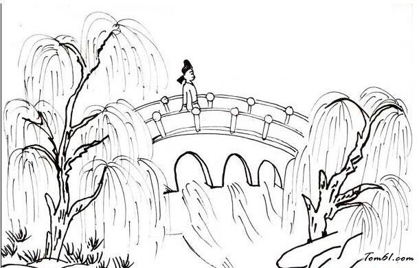 小兔子舞蹈_画桥图片_简笔画图片_少儿图库_中国儿童资源网