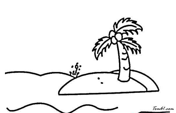 椰子树7图片_简笔画图片_少儿图库_中国儿童资源网