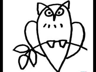 可爱猫头鹰2