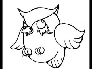 可爱猫头鹰1