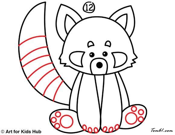 小熊猫2图片_学习简笔画_少儿图库_中国儿童资源网